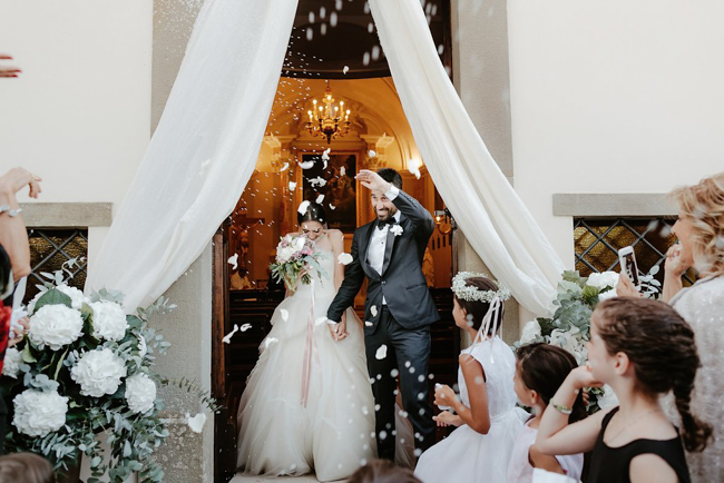 luxury wedding in the umbrian castle