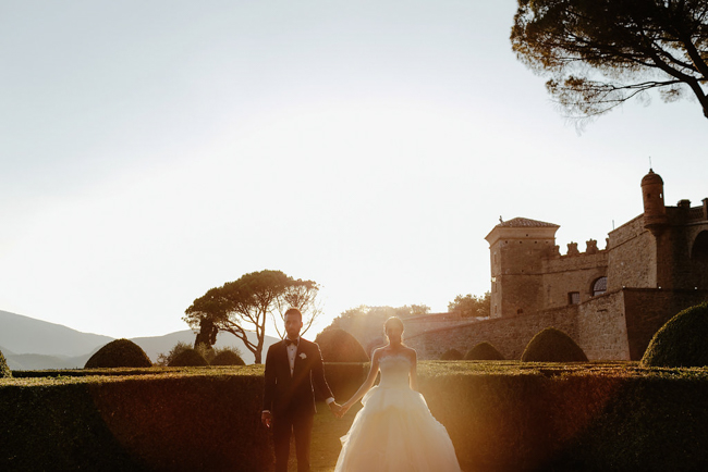 chic wedding in italy