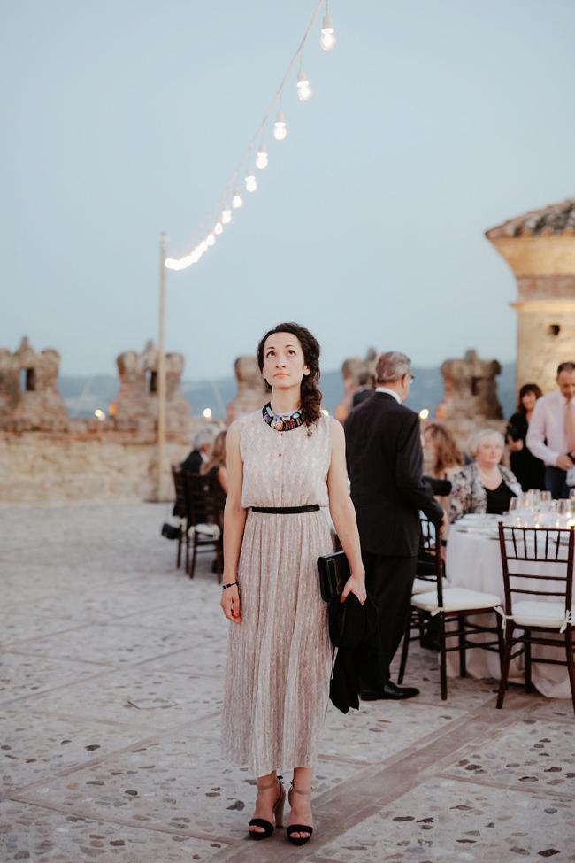 luxury italian wedding lighting