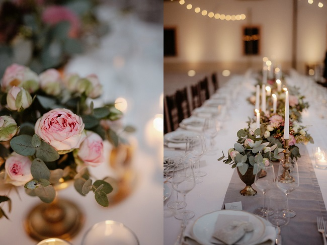 table setting luxury wedding in italy