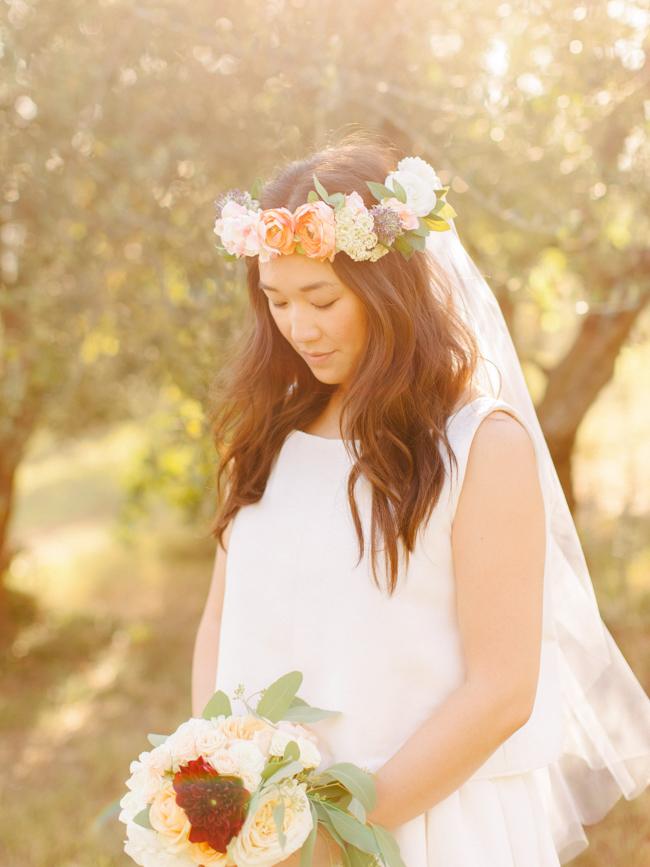 bouquet wedding dress