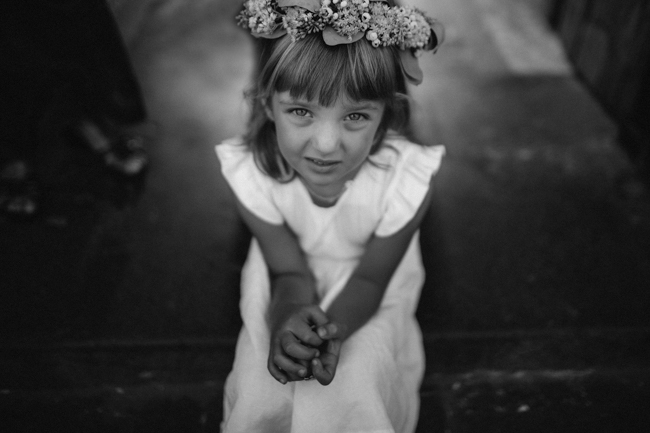 flower girl amalfi coast wedding