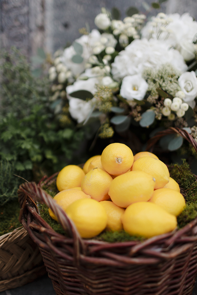 lemons and flowers amalfi coast wedding