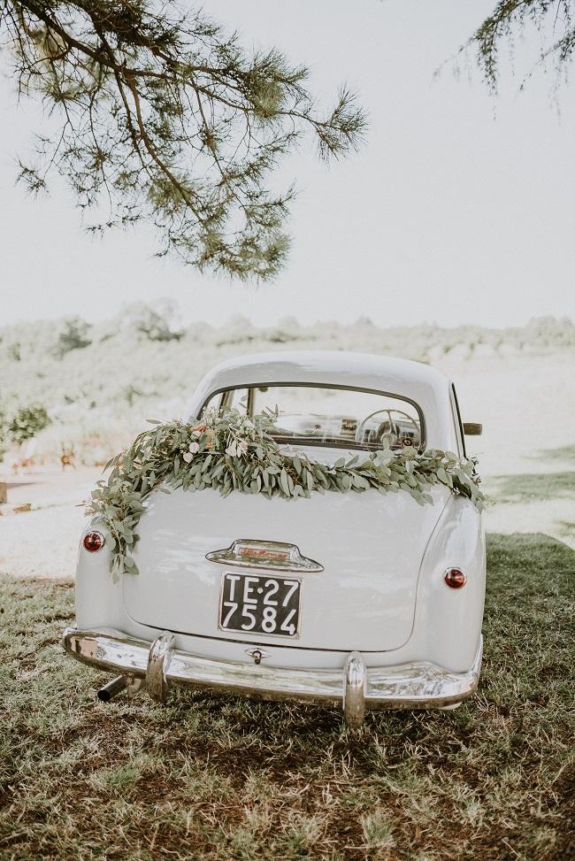 auto d'epoca matrimoni roma