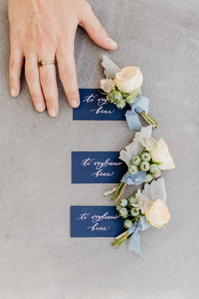 Calligraphy tags